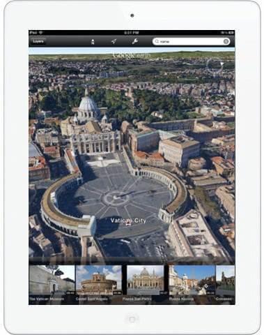 ipad 3d maps download ios 6