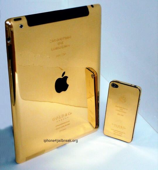 ipad gold plated