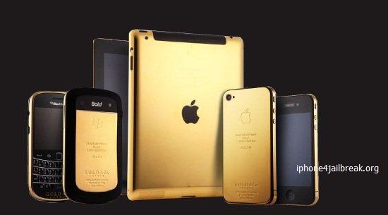 ipad iphone ipod gold plated