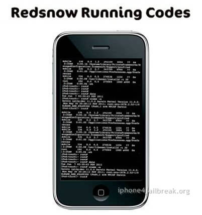 iphone 3GS redsnow codes Redsn0w