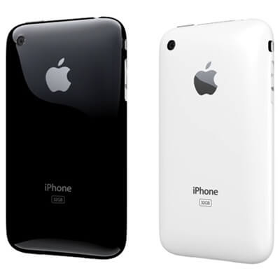 iphone 3gs white black