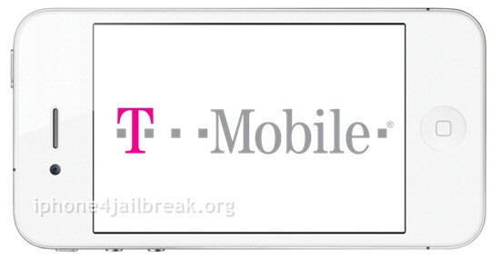 iphone 4 T mobile logo