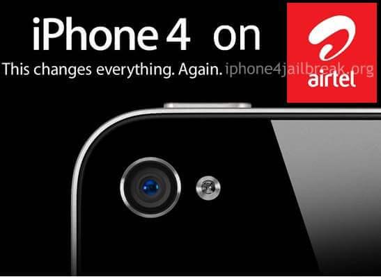 iphone 4 airtel