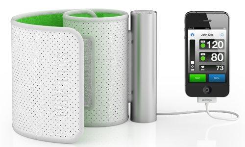 iphone 4 blood pressure monitor-