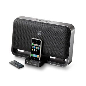 iphone 4 docking station with speakers