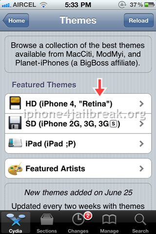iphone 4 free themes