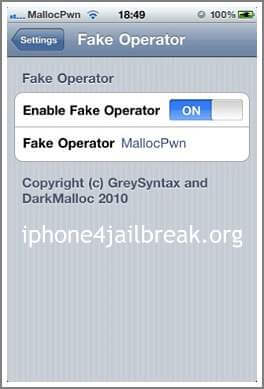 how to change your carrier name on iphone