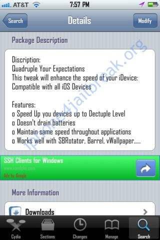 iphone 4 overclocking aplication