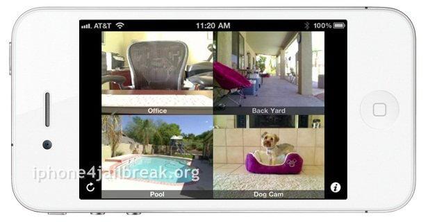 iphone 4 spy camera