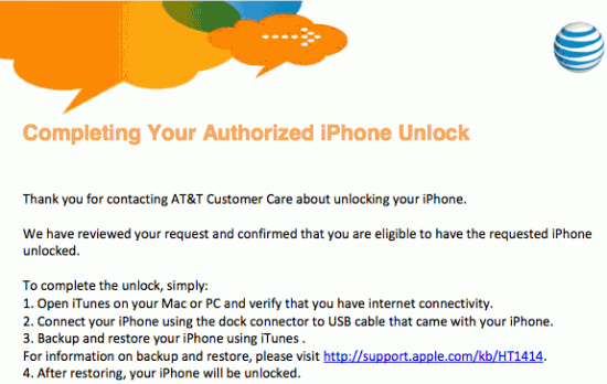 iphone 4-unlock at&t
