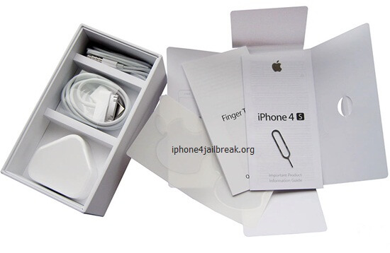 iphone 4s packaging