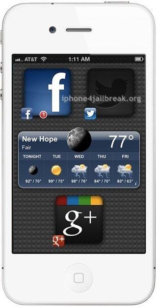 iphone 4s theme iphone 5