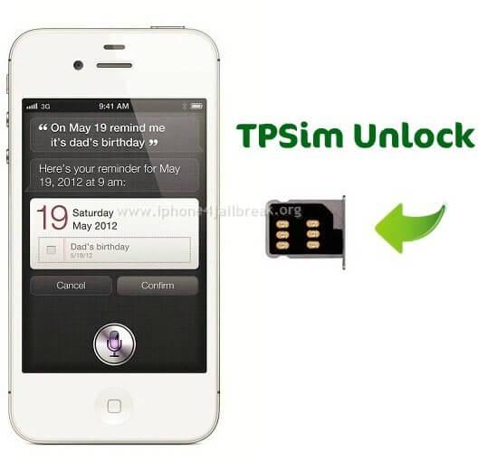 iphone 4s tpsim unlock