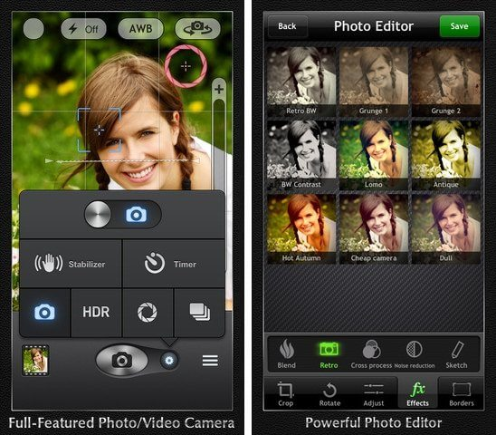 iphone 5 camera app professional top best