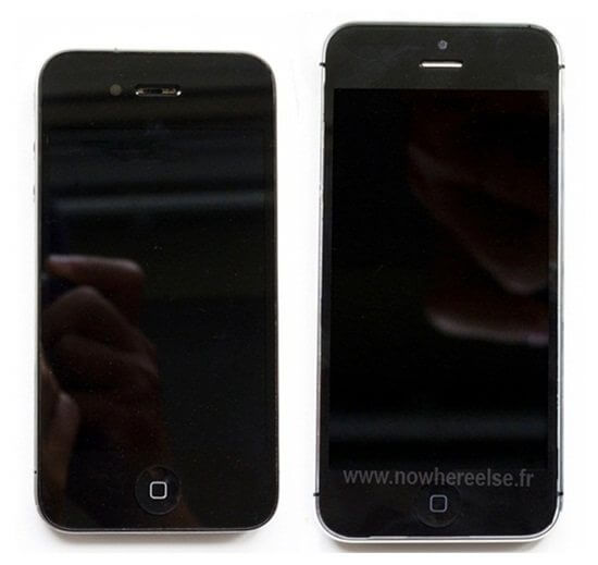 iphone 5 compared with iphone 4s