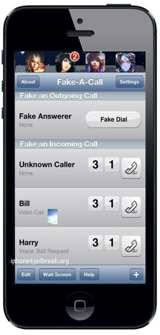 iphone 5 fake caller-Optimized