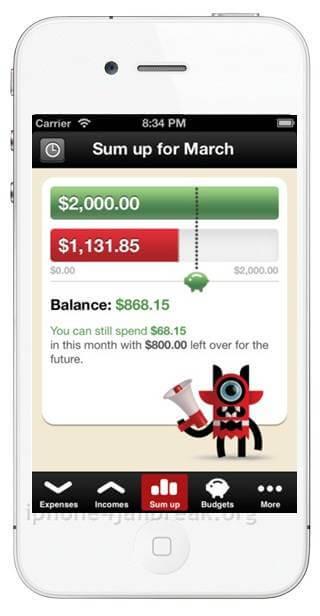 iphone 5 finance app