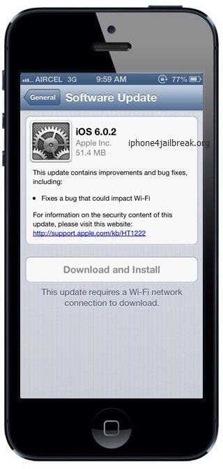 iphone 5 iOS 6.0.2 ipsw download