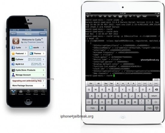 iphone 5 jailbreak ipad mini jailbreak