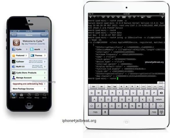 iphone 5 jailbreak ipad mini jailbreak