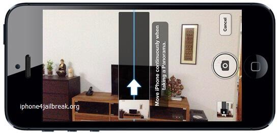 iphone 5 panaromic