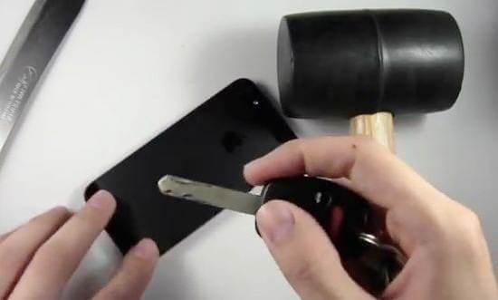 iphone 5 scratch test