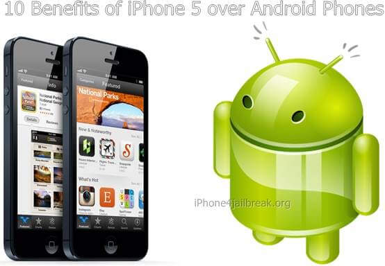 iphone 5 vs android phone