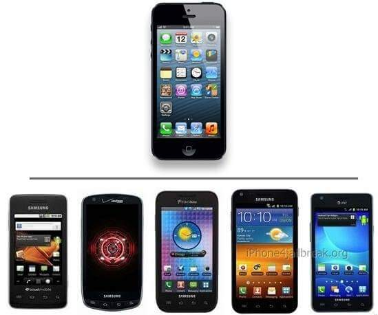 iphone 5 vs android