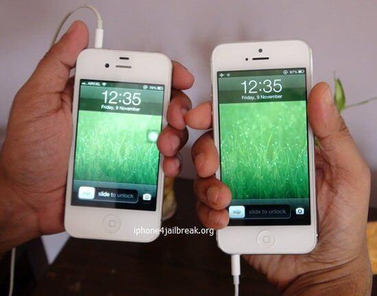 iphone 5 vs iphone 4 headphones