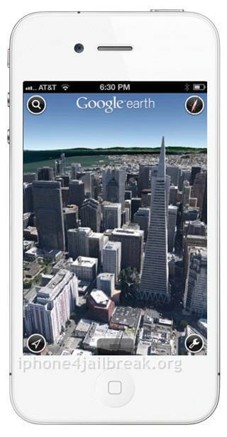 iphone 5 white 3d maps google download