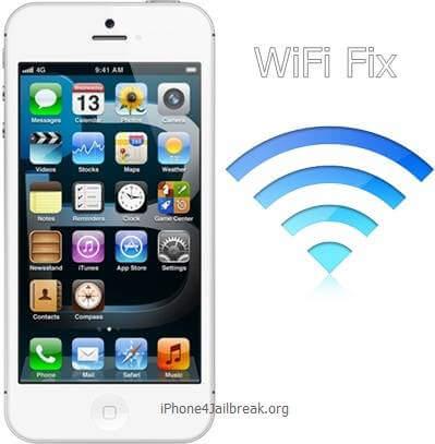 iphone 5 wifi fix