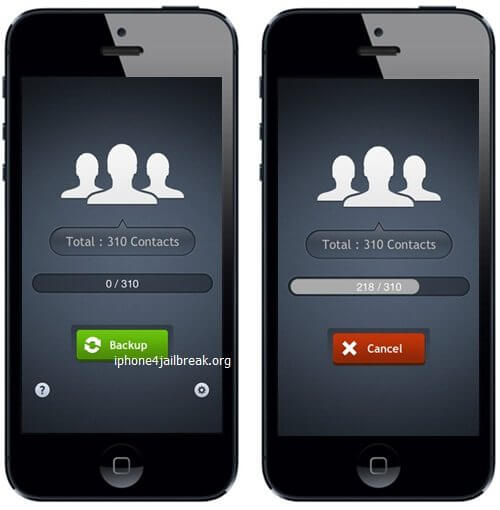 iphone contacts backup