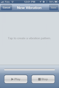 iphone sounds and vibrations