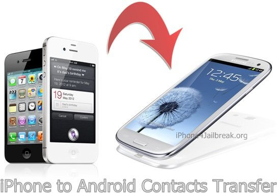 iphone 5 to android phone contacts transfer - samsung galaxy s 3