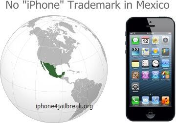iphone trademark mexico