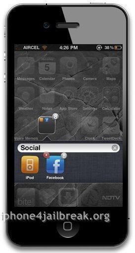 iphone4_folder create