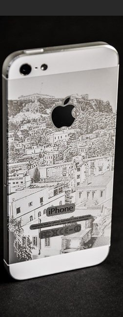 iphone 5_ laser design
