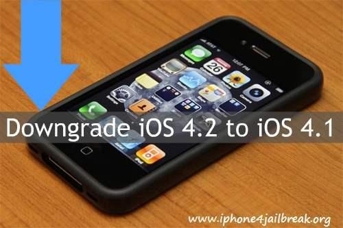 iphone_4_downgrade ios 4.2