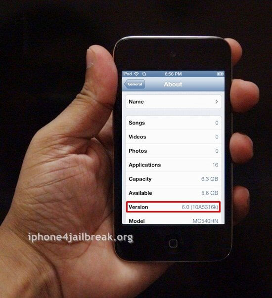 ipod touch 4 ios 6 download