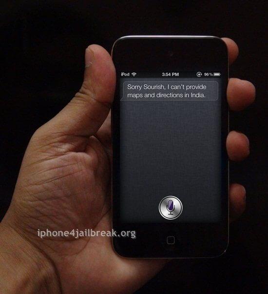 ipod touch siri install