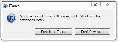 itunes 10.5 download