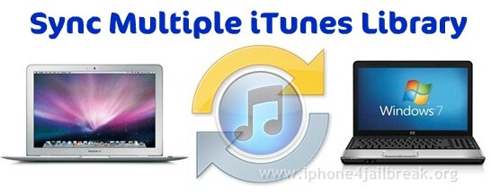 itunes sync multiple computers