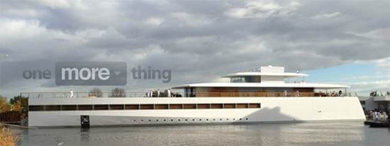 steve jobs yacht pictures