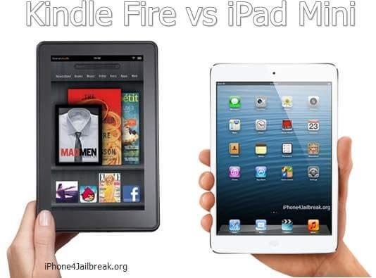 kindle fire vs ipad mini