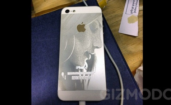 laser engraved iphone 5