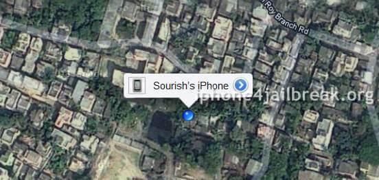 locate lost iphone 4