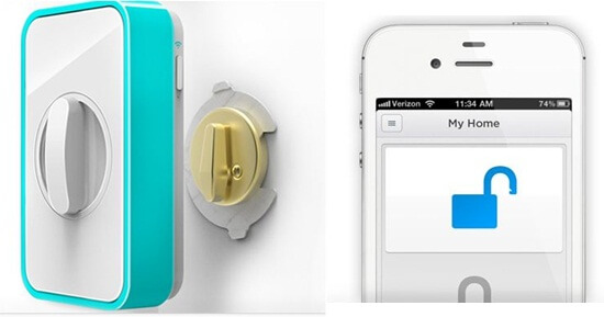 lockitron home lock security system for iphone