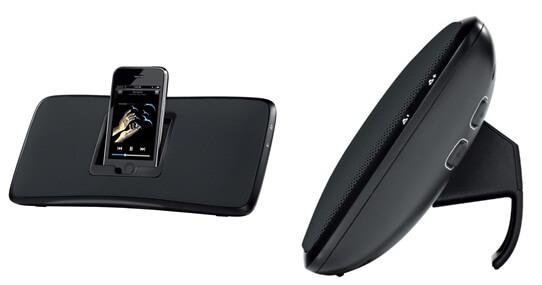 logitech recharging speaker dock