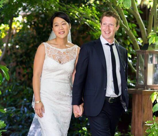 marriage picture priscilla chan
