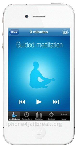 meditation app iphone 4s